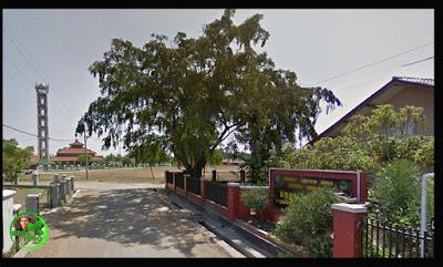 Desa Simpar, Kecamatan Cipunagara. Sumber foto dari Google Map