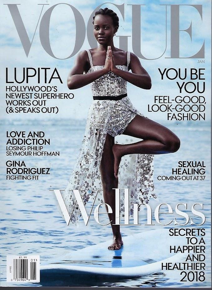 Lupita Nyong'o is Vogue US' January 2018 Cover Girl!