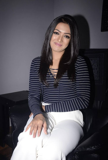 Catherine Tresa Latest Hot Glamourous Spicy PhotoShoot Images At Spa Ceylon Luxury Ayurveda Launch