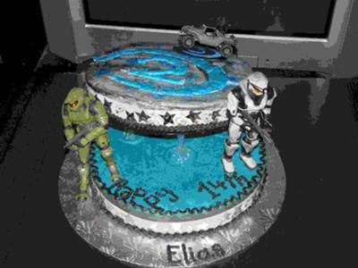 halo birthday cake gears of halo reviews news and 4679