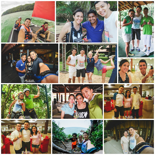 Some photos with the awesome GO from Club Med Cherating