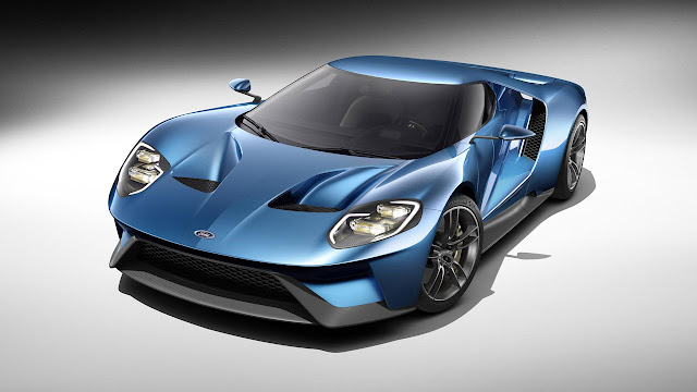 The carbon-fibre-bodied Ford GT