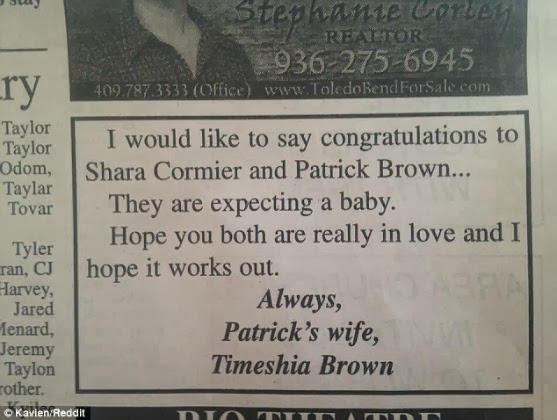 Talk About HOT MESS! A Wife Puts a Special Ad in a Newspaper