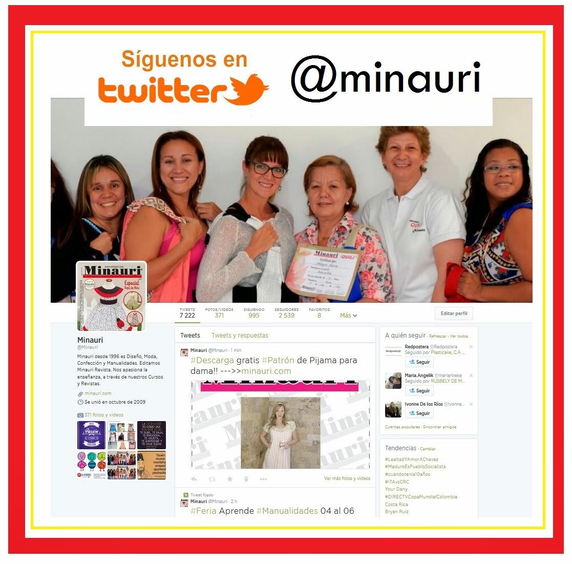 minauri en twitter  @minauri