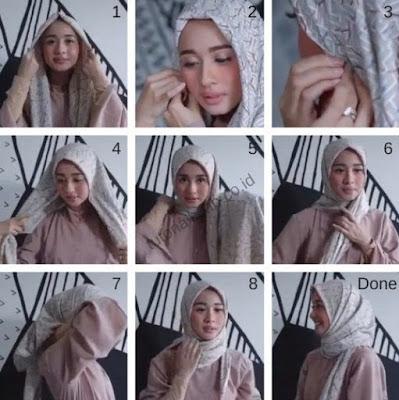 tutorial hijab laudya chintya bella terbaru