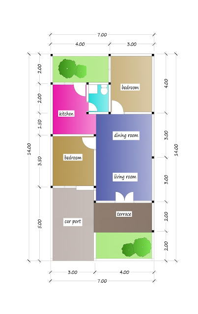 floor plan of beautiful house plan 18