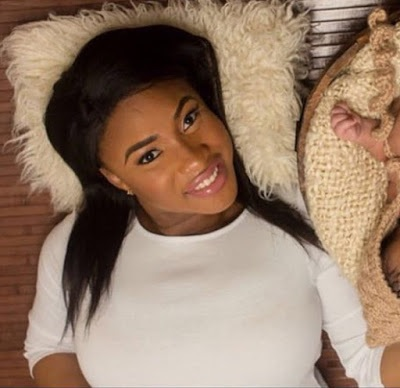 Tonto Dikeh Shares Another Faceless Photo Of Baby Boy To Mark 31st Birthday