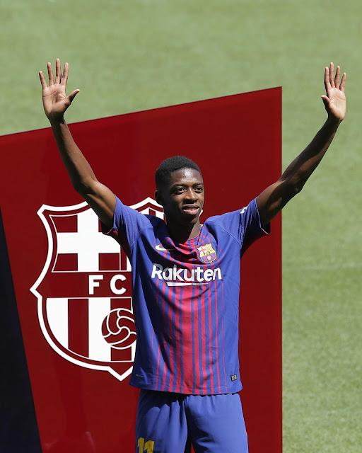 Barcelona menebus Ousmane Dembele sebesar Rp Berita Terhangat Dembele Kaprikornus Bahan Tertawaan Setelah Presentasi di Barcelona