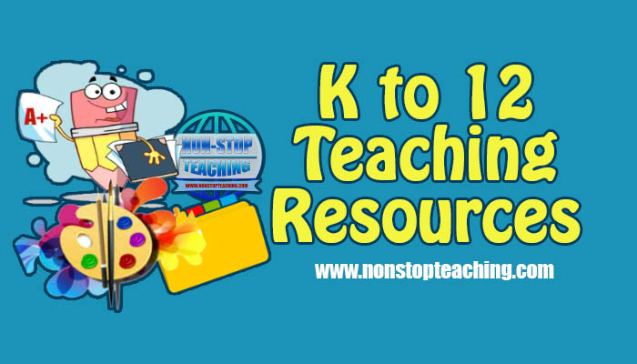 DepEd K To 12 Teaching Resources Compilation S Y 2019 2020