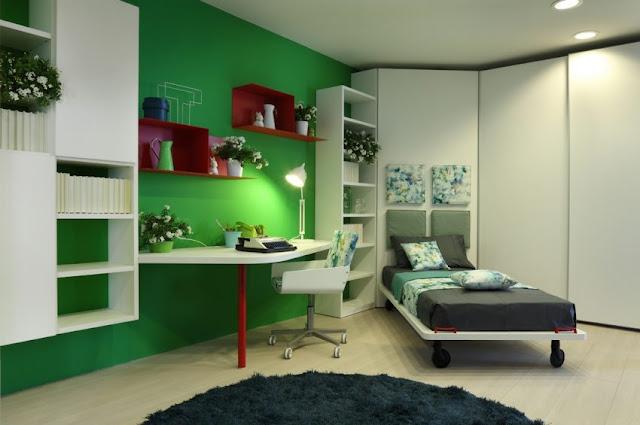 Dormitorios juveniles modernos for Recamaras juveniles modernas