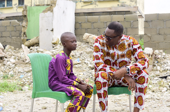 Read Dr. Tony Rapu's Letter to a Fatherless Son