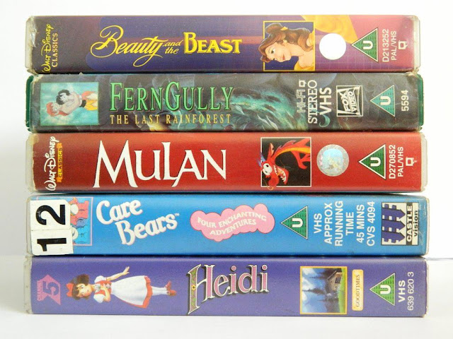 Favourite Childhood Animation Movies