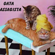 Pintura Que Fala: A Gata Massagista