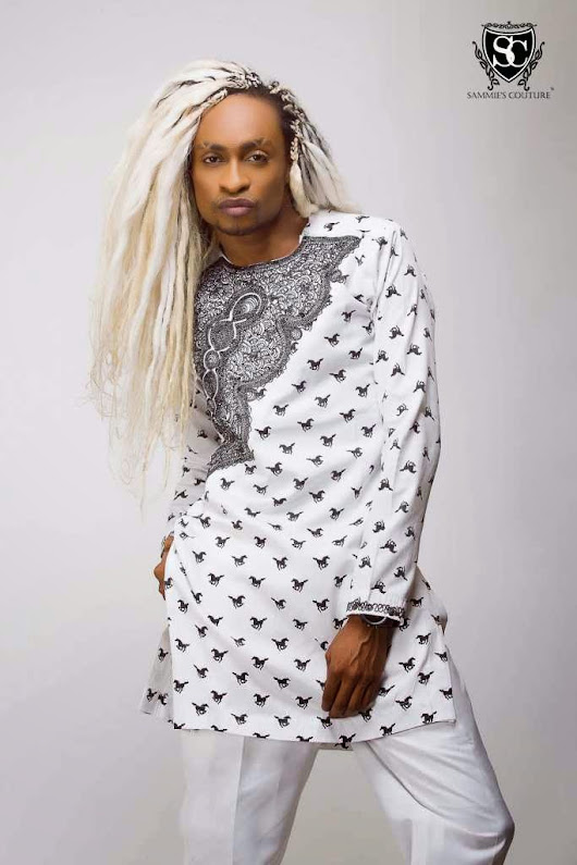 Fabulously spotted - Denrele in blonde locks!