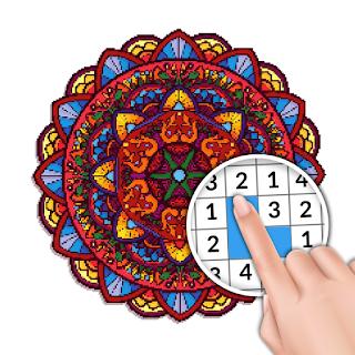 [JEU] Mandala Coloriage Adultes - Peinture par Numero [Gratuit] 512x512