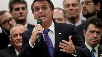 Bolsonaro  lidera em pesquisa no Rio de Janeiro