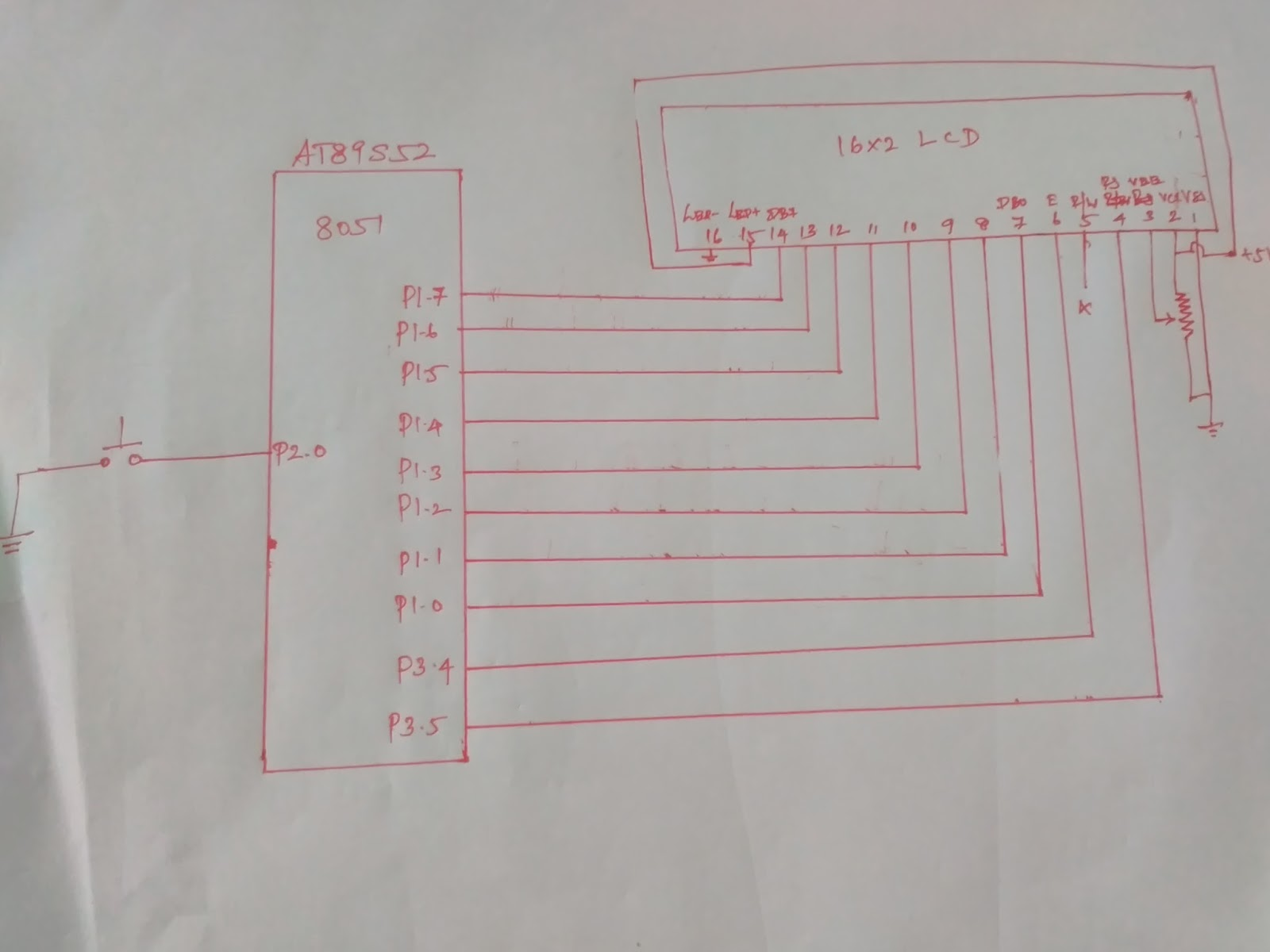 How To Interface 16x2 Lcd With 8051 Microcontroller At89c51 Of That You Need Have In Order Perform An This Topic Explains The Basics A And It Can Be Interfaced Display Character