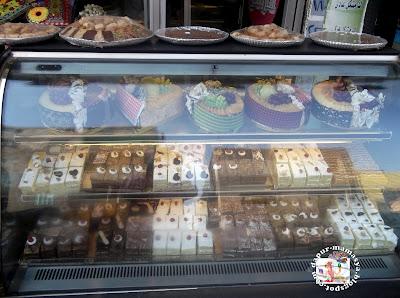 Masa Jalan2 Jumpa Kedai Kek Stop Ke Tengok Kek2 Yg Dijual Kecil Je Chiller Cake Nipun Letak Di Kaki Lima Dpn