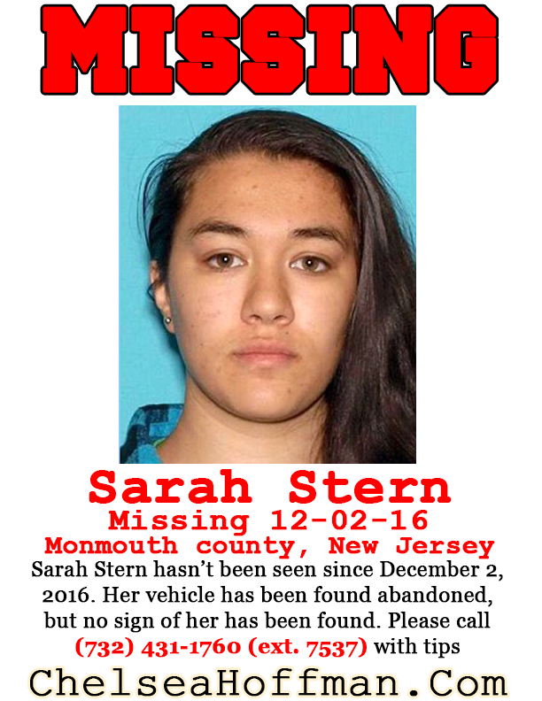 New Jersey: Sarah Stern missing since Dec. 2, 2016