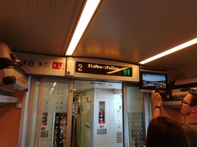 Zug fahren in China - Reisebericht und Tips