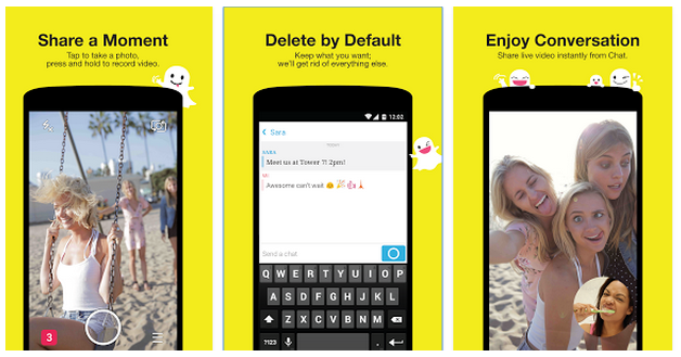 Download Snapchat Apk for Android, BB, iOS dan Windows Phone