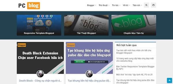 ToiCode Template Blogger