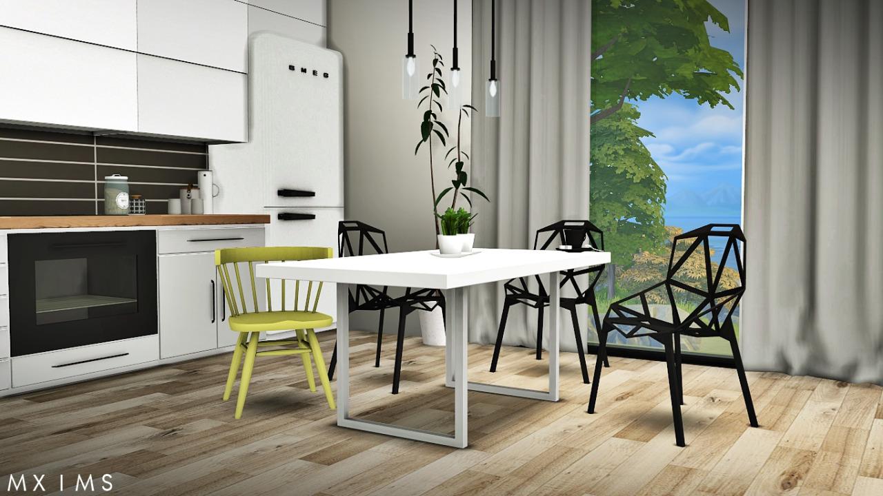 My Sims 4 Blog: Gosik Skarto Dining Set, Awesims Captain ...