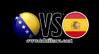 اسبانيا والبوسنة والهرسك بث مباشر