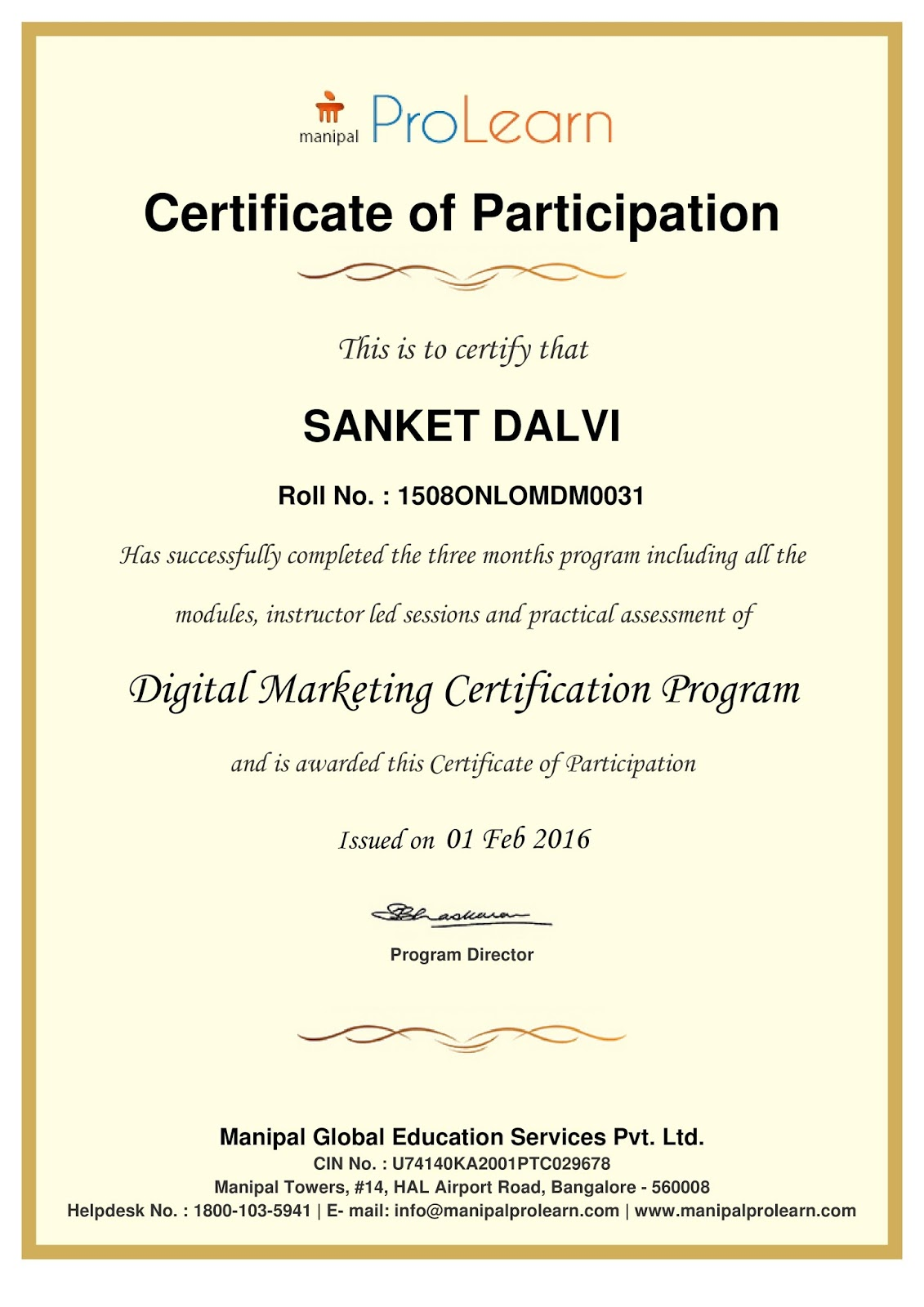 Digital marketing certifications best market 2017 digital marketer certifications xflitez Images