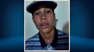 Adolescente encontrado morto teria ateado fogo em ônibus em Alfenas (Foto: Reprodução EPTV/Erlei Peixoto)