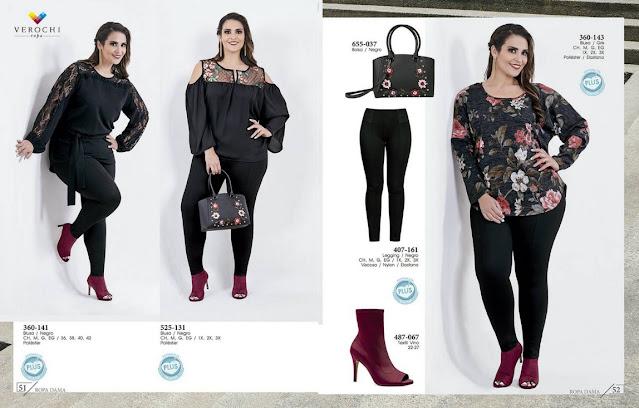 Catalogo Verochi ropa gorditas