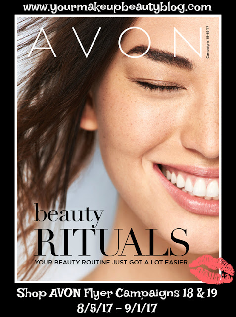 Click on your AVON eBrochure Flyer to shop the Beauty Rituals Your Beauty Routine Just Got A Lot Easier