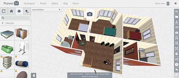 Planner 5d aplicaci n para dise ar interiores for Aplicacion para disenar interiores
