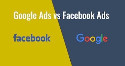 Perbandingan Facebook Ads VS Google Ads