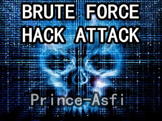 Brute Force Hack Attack - Prince Asfi