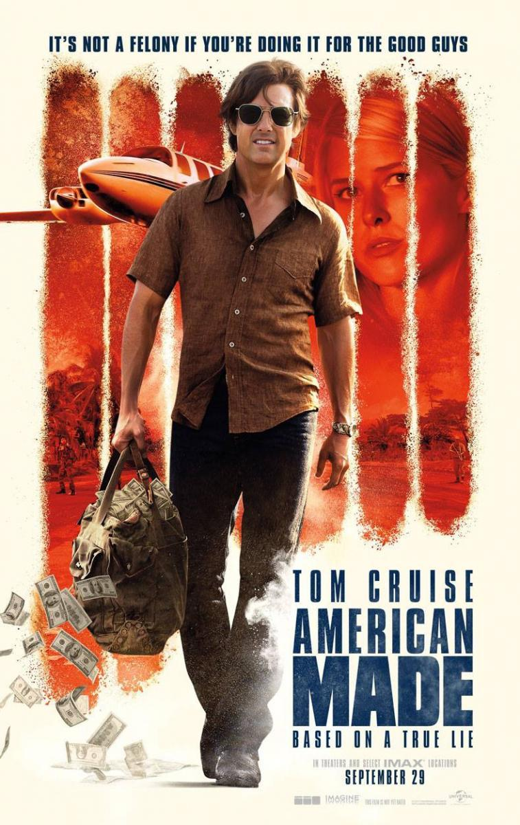 American Made [2017] [DVDR] [NTSC] [CUSTOM BD]  [Latino 5.1]