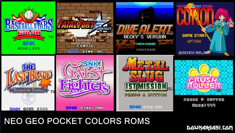 Neo Geo Pocket Colors Full Set