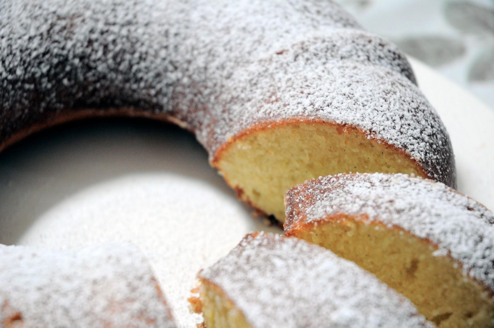 Forget Those Calories Vanilla Bean Bundt Cake
