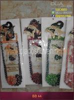 Contoh souvenir grosir Pembatas buku atau bookmark