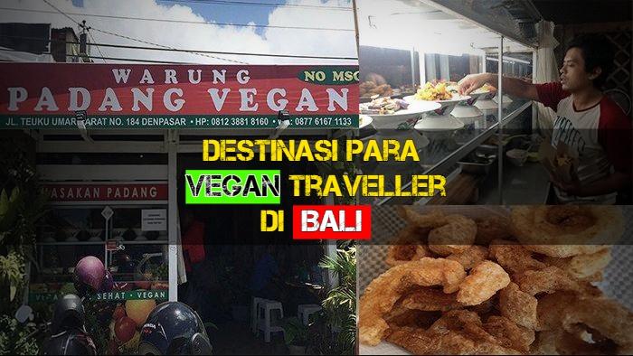 warung Padang vegan, vegetarian bali