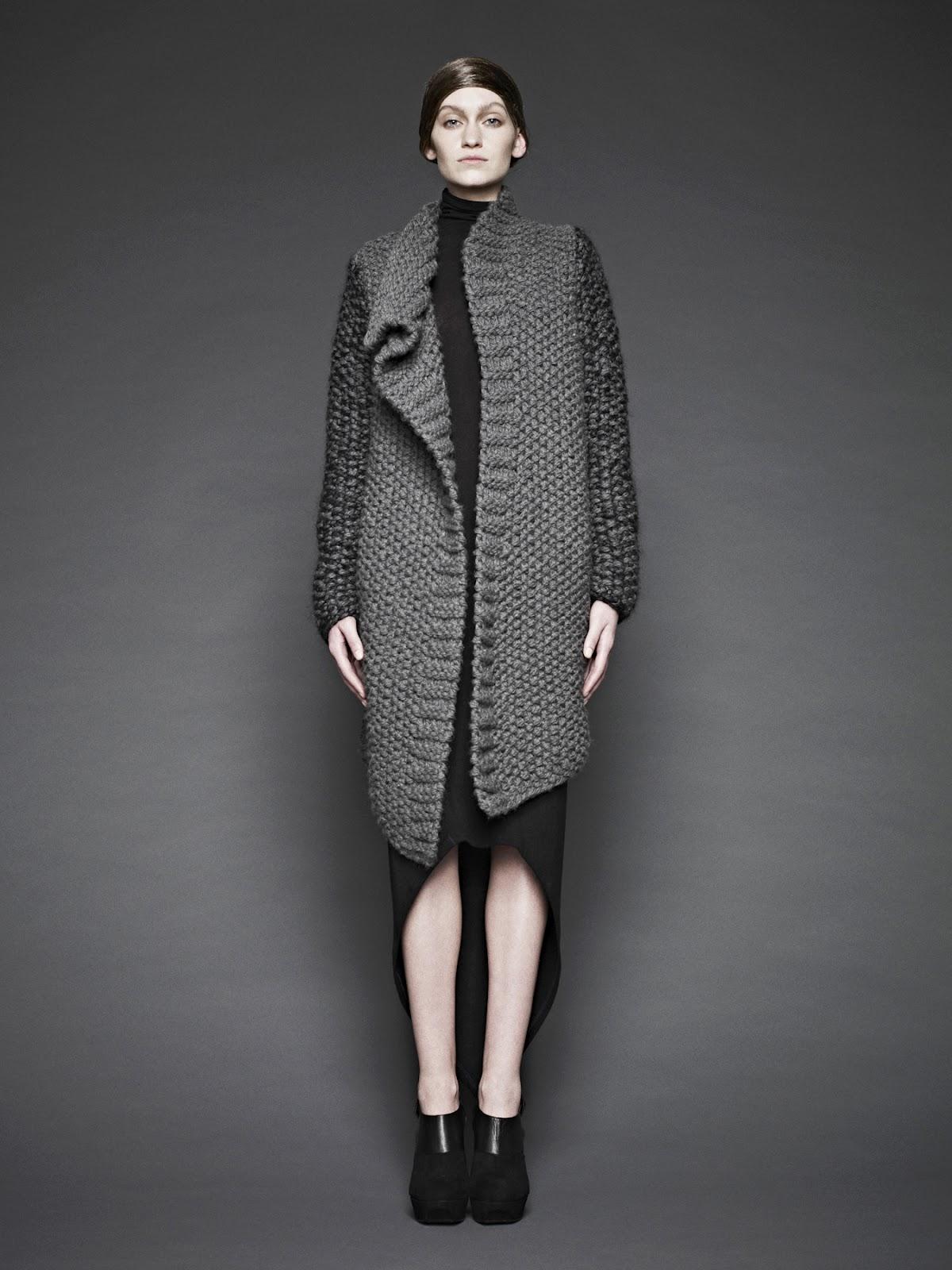 knitGrandeur: Sunghee Bang F/W 2012 Collection