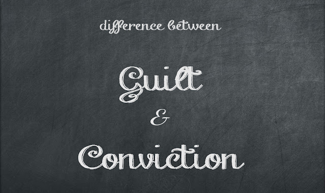 The Difference Between Guilt and Conviction