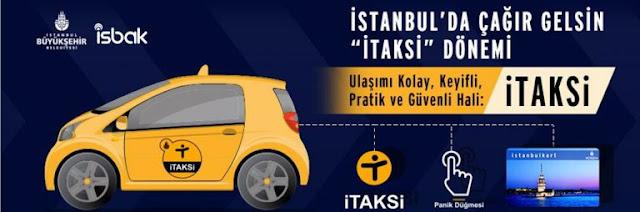 İstanbul Büyükşehir Belediyesi İTAKSİ Hizmette
