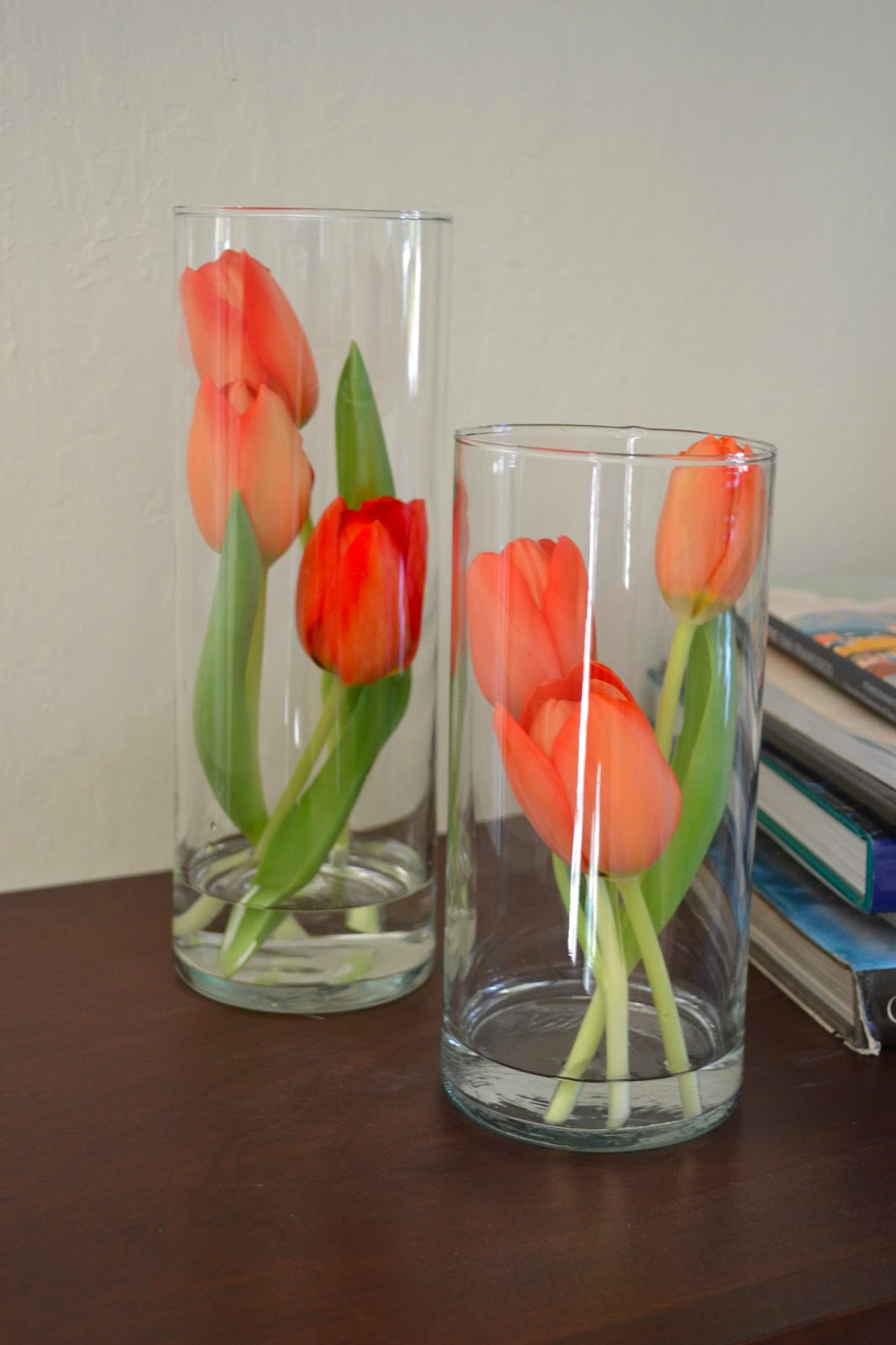 Do It Yourself Home Decorating Ideas: Petals And Pods: Simple Tulip Arrangements