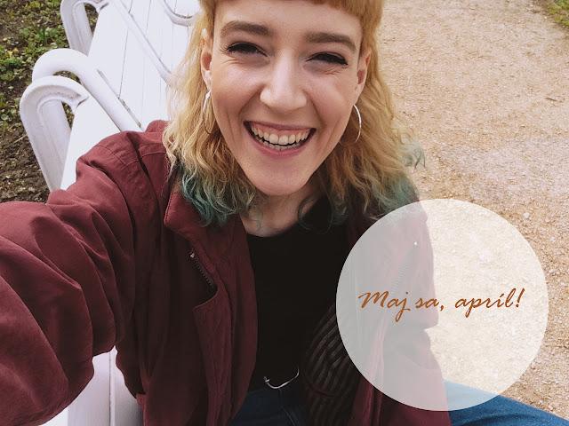 Blogerka City Swell by sa vo svojom najnovšom príspevku rada podelila o svoj apríl.