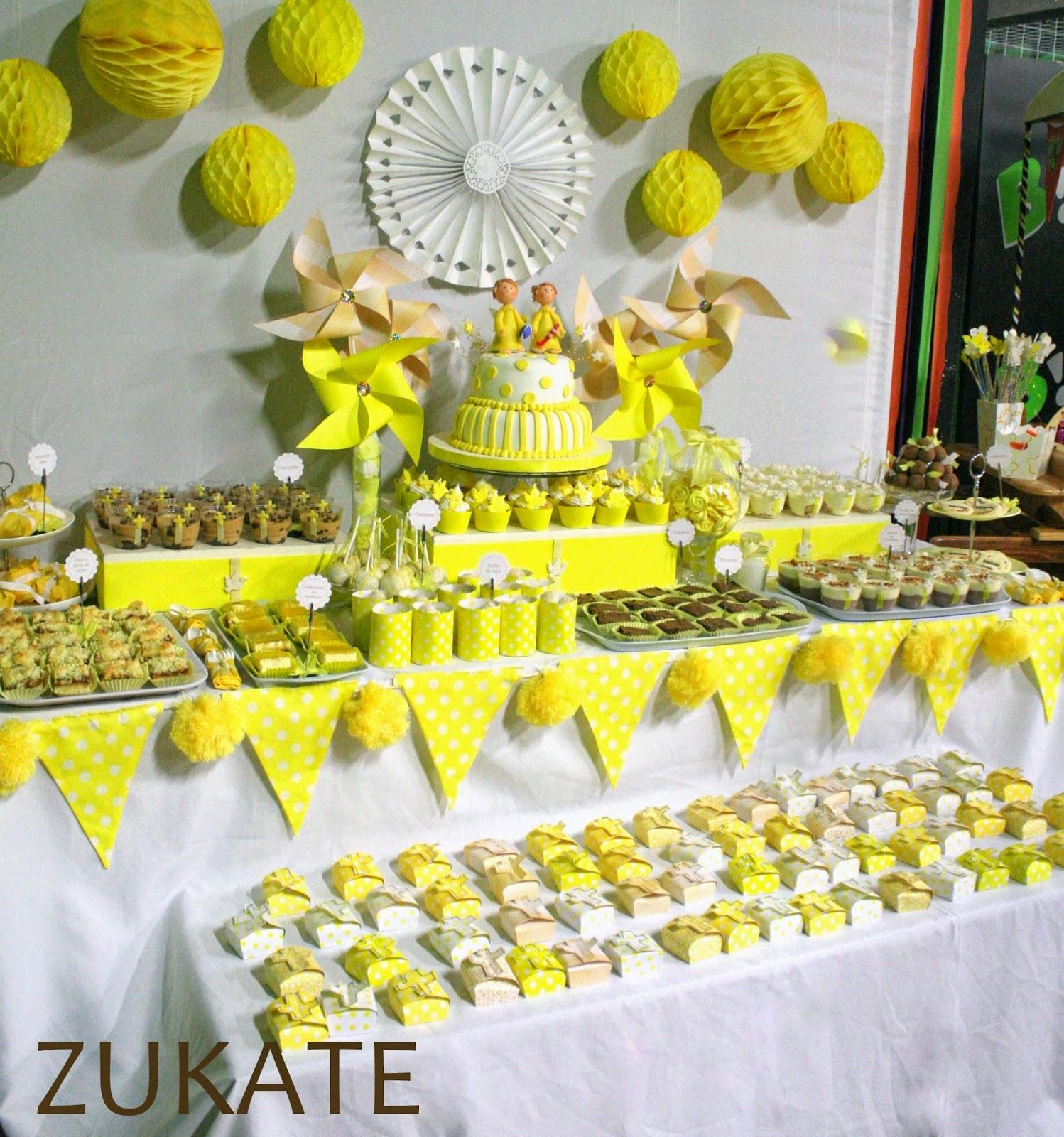 Fiesta de primera comuni n para brenda y ezequiel zukate - Ideas para mesas dulces de comunion ...