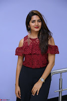 Pavani Gangireddy in Cute Black Skirt Maroon Top at 9 Movie Teaser Launch 5th May 2017  Exclusive 028.JPG