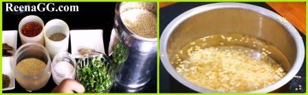 Punjabi bari recipe step 1
