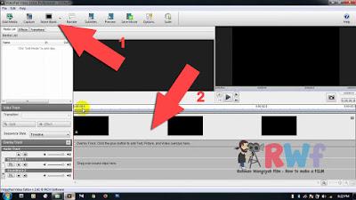 Cara paling mudah membuat intro film video keren sederhana simpel