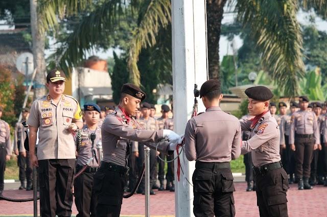 Kapolda Banten Irjen Pol Tomsi Tohir Jadi Inspektur Upacara di Hari Kebangkitan Nasional Yang Ke-111